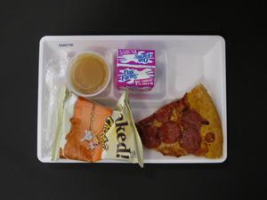 Primary view of object titled 'Student Lunch Tray: 02_20110208_02A5736'.