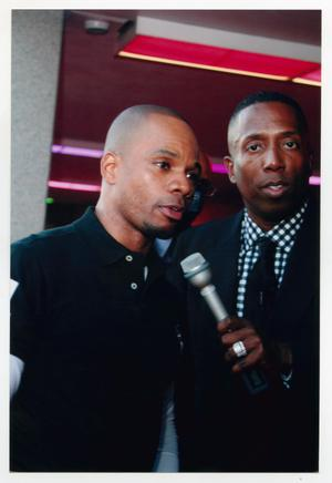 Primary view of object titled '[Kirk Franklin at the TBAAL Anniversary Gala]'.