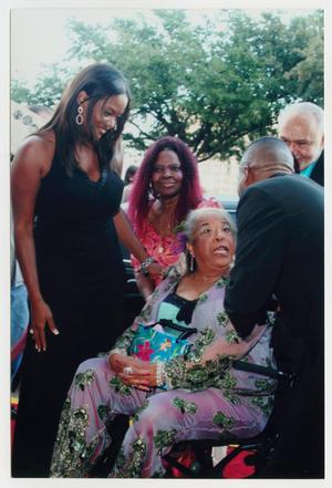 Primary view of object titled '[Della Reese at TBAAL Anniversary Gala]'.