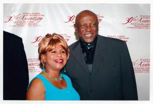 Primary view of object titled '[Louis Gossett Jr. at the TBAAL Anniversary Gala]'.