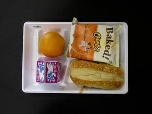 Primary view of object titled 'Student Lunch Tray: 02_20110208_02A5753'.