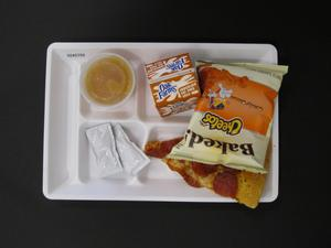 Primary view of object titled 'Student Lunch Tray: 02_20110208_02A5759'.
