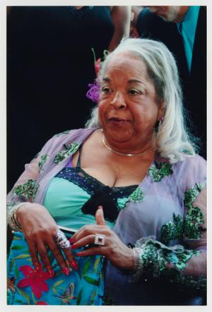 Primary view of object titled '[Della Reese at Event]'.