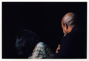 Primary view of object titled '[Peabo Bryson Singing on Stage]'.
