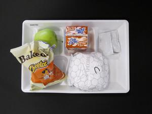 Primary view of object titled 'Student Lunch Tray: 02_20110208_02A5793'.