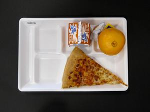 Primary view of object titled 'Student Lunch Tray: 02_20110208_02A5796'.
