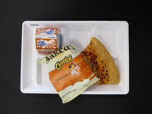 Primary view of object titled 'Student Lunch Tray: 02_20110208_02A5798'.