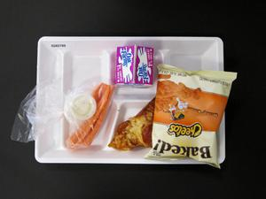 Primary view of object titled 'Student Lunch Tray: 02_20110208_02A5799'.