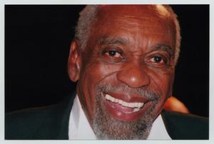 Primary view of object titled '[Bill Cobbs Smiling for Camera]'.