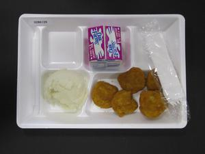Primary view of object titled 'Student Lunch Tray: 02_20110208_02B6129'.