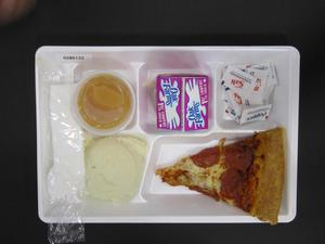 Primary view of object titled 'Student Lunch Tray: 02_20110208_02B6133'.