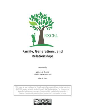 Family, Generations, and Relationships