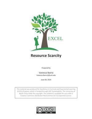 Resource Scarcity
