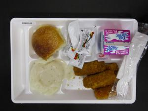 Primary view of object titled 'Student Lunch Tray: 02_20110208_02B6149'.