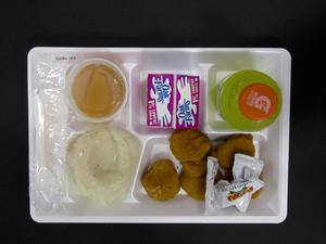 Primary view of object titled 'Student Lunch Tray: 02_20110208_02B6161'.