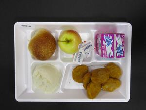 Primary view of object titled 'Student Lunch Tray: 02_20110208_02B6164'.