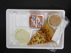 Primary view of object titled 'Student Lunch Tray: 02_20110208_02B6167'.