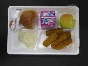 Primary view of object titled 'Student Lunch Tray: 02_20110208_02B6180'.