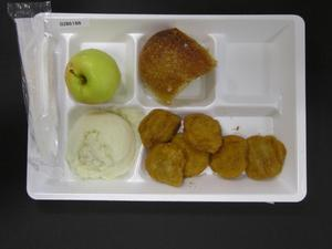 Primary view of object titled 'Student Lunch Tray: 02_20110208_02B6188'.