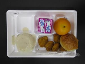 Primary view of object titled 'Student Lunch Tray: 02_20110208_02B6192'.