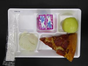 Primary view of object titled 'Student Lunch Tray: 02_20110208_02B6195'.