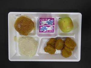 Primary view of object titled 'Student Lunch Tray: 02_20110208_02B6196'.