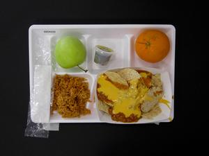 Primary view of object titled 'Student Lunch Tray: 02_20110208_02C4333'.