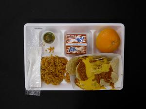Primary view of object titled 'Student Lunch Tray: 02_20110208_02C4339'.