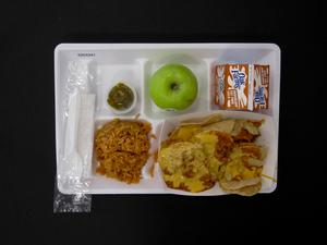 Primary view of object titled 'Student Lunch Tray: 02_20110208_02C4341'.