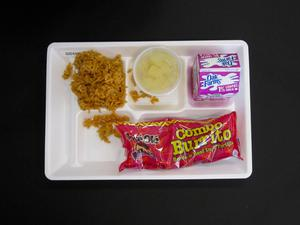 Primary view of object titled 'Student Lunch Tray: 02_20110208_02C4345'.