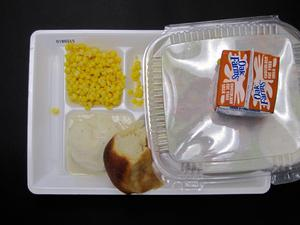 Primary view of object titled 'Student Lunch Tray: 01_20110216_01B6015'.