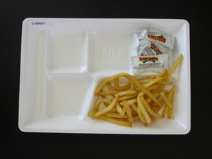 Primary view of object titled 'Student Lunch Tray: 01_20110216_01A5603'.