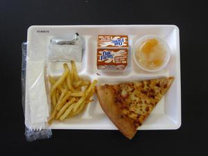 Primary view of object titled 'Student Lunch Tray: 01_20110216_01A5619'.