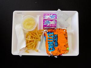 Primary view of object titled 'Student Lunch Tray: 01_20110216_01A5633'.