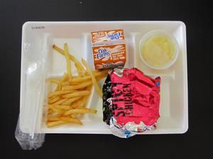 Primary view of object titled 'Student Lunch Tray: 01_20110216_01A5639'.