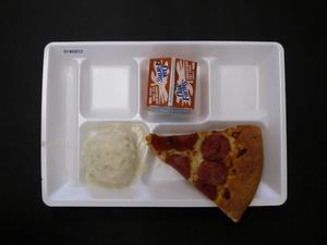 Primary view of object titled 'Student Lunch Tray: 01_20110216_01B5973'.
