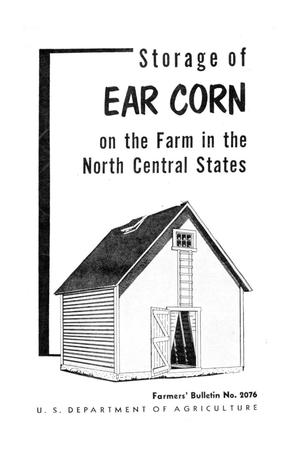 Primary view of object titled 'Storage of ear corn on the farm in the north central states.'.