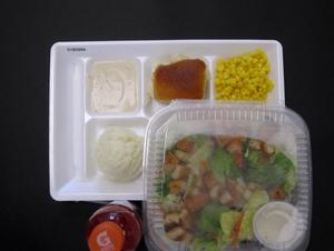Primary view of object titled 'Student Lunch Tray: 01_20110216_01B5994'.