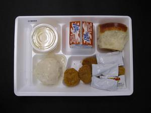 Primary view of object titled 'Student Lunch Tray: 01_20110216_01B6004'.