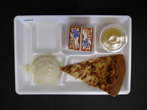 Primary view of object titled 'Student Lunch Tray: 01_20110216_01B6013'.