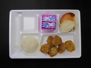 Primary view of object titled 'Student Lunch Tray: 01_20110216_01B6020'.