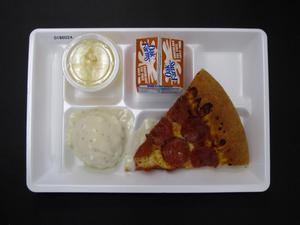 Primary view of object titled 'Student Lunch Tray: 01_20110216_01B6024'.