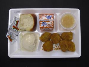 Student Lunch Tray: 01_20110216_01B6025