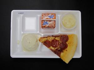 Primary view of object titled 'Student Lunch Tray: 01_20110216_01B6027'.