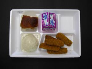 Primary view of object titled 'Student Lunch Tray: 01_20110216_01B6031'.