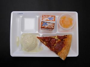 Primary view of object titled 'Student Lunch Tray: 01_20110216_01B6036'.