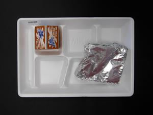 Primary view of object titled 'Student Lunch Tray: 01_20110216_01C4306'.