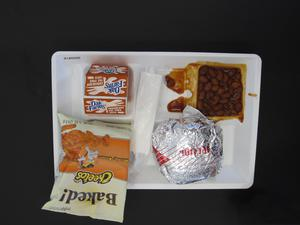 Primary view of object titled 'Student Lunch Tray: 01_20110217_01A5550'.