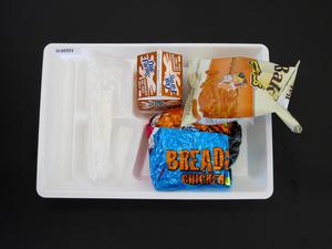 Primary view of object titled 'Student Lunch Tray: 01_20110217_01A5553'.
