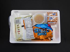 Primary view of object titled 'Student Lunch Tray: 01_20110217_01A5559'.